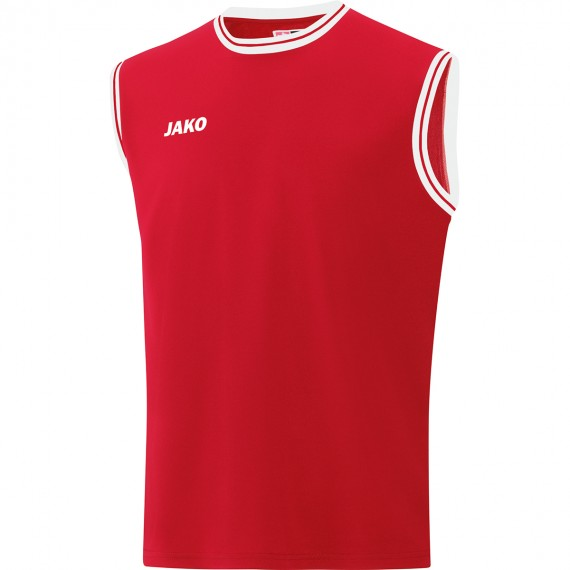 4150-01 Shirt Center 2.0 sportrood/wit