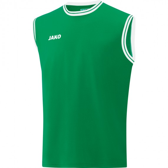 4150-06 Shirt Center 2.0 sportgroen/wit