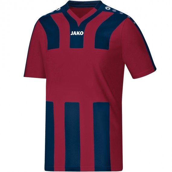 4202-11 Shirt Santos KM bordeaux/navy