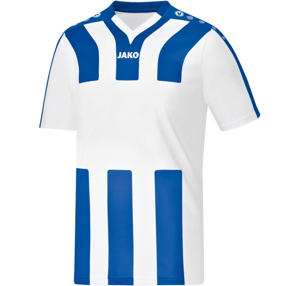 4202-40 Shirt Santos KM wit/sportroyal