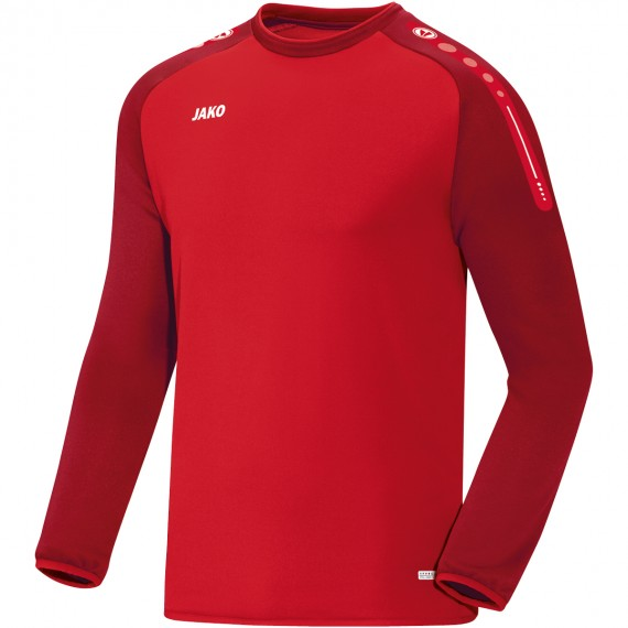 8817-01 Sweater Champ rood/wijnrood