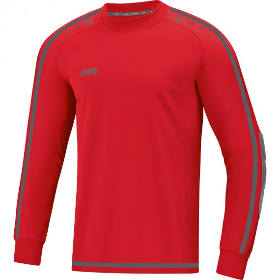 8905-01 Keepershirt Striker 2.0 sportrood/antraciet